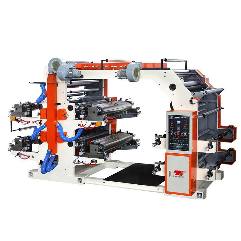 CHSJ-FP4 Four Colors Flexography Printing Machine