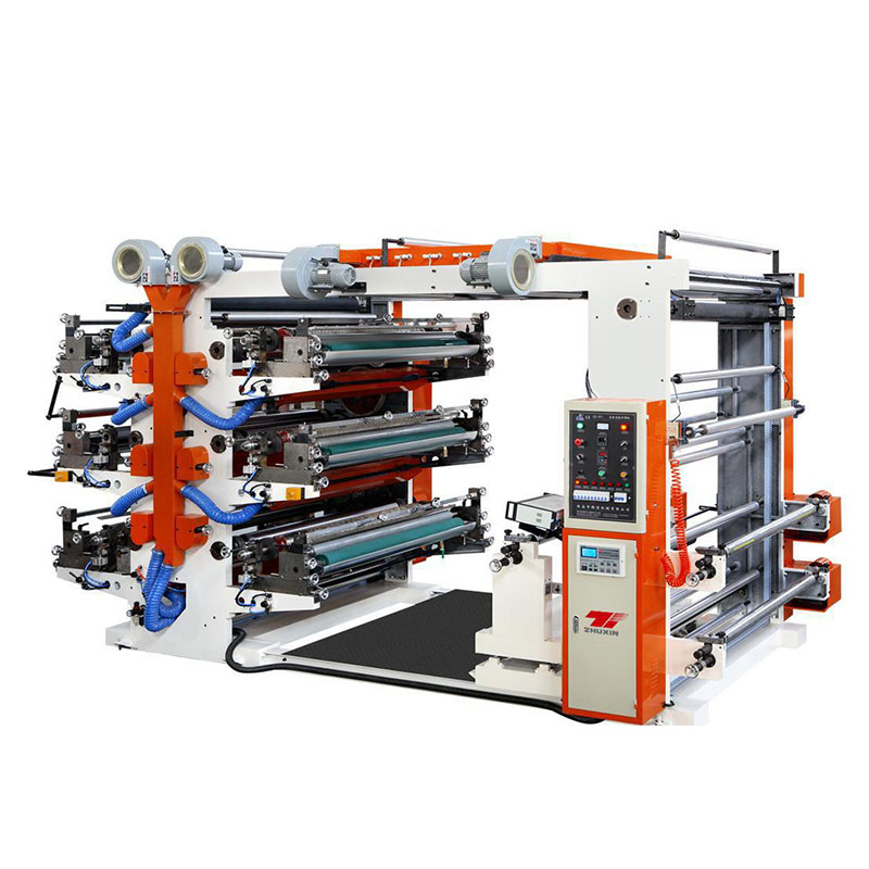 CHSJ-FP6 Six Colors Flexography Printing Machine