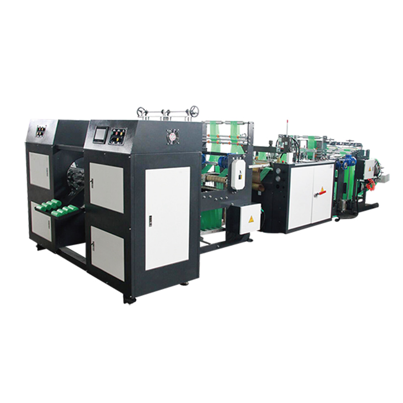 CH-SSCR Star-Sealed Core-less Garbage Bag-On-Roll Making Machine